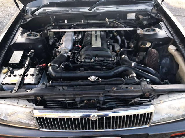 S14 BLACK-TOP SR20DET TURBO ENGINE