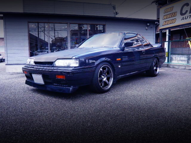 FRONT EXTERIOR OF R31 SKYLINE GTS-R