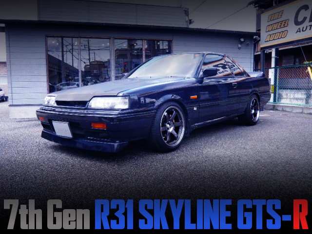 GROUP-A HOMOLOGATION MODEL OF HR31 SKYLINE GTS-R