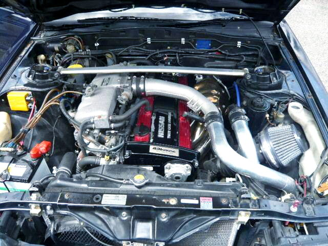 RB20DET-R TO4E TURBO ENGINE