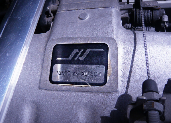 S and S TUNING PLATE OF AUTECH VERSION RB20DET