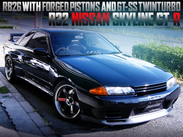 RB26 WITH FORGED PISTONS AND GT-SS TWINTURBO INTO R32 SKYLINE GT-R