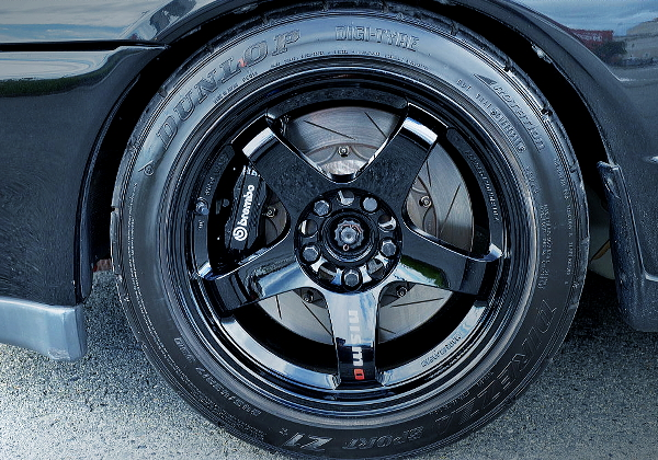 FRONT F50 Brembo CALIPER AND SLOTTED ROTOR