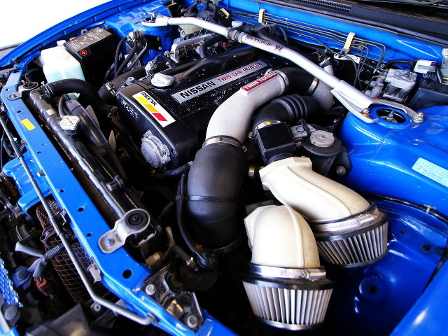 RB26 TWINTURBO ENGINE OF R33 GT-R LM LIMITED MOTOR