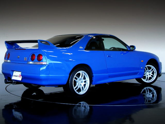 REAR EXTERIOR R33 GT-R LM LIMITED