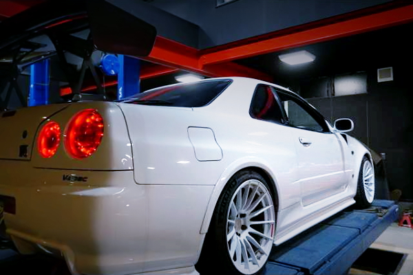 R34 GT-R REAR RIGHT FENDER