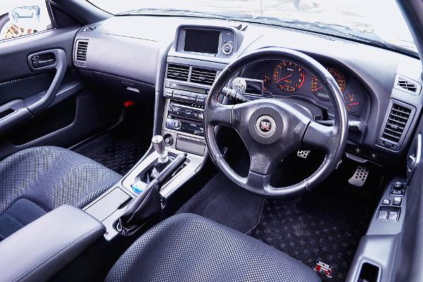 R34 GT-R DASHBOARD