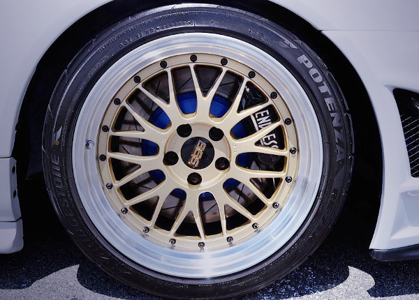 BBS LM WHEEL AND ENDLESS BRAKE CALIPER