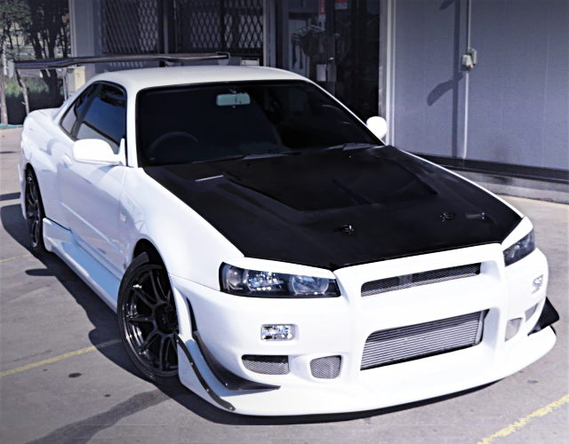 FRONT EXTERIOR ER34 SKYLINE COUPE