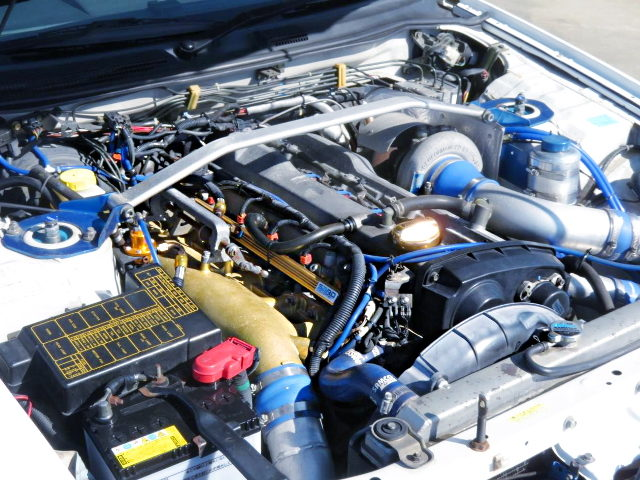 RB25DET WITH RB26 ITBs AND TD06H-25G SINGLE TURBO