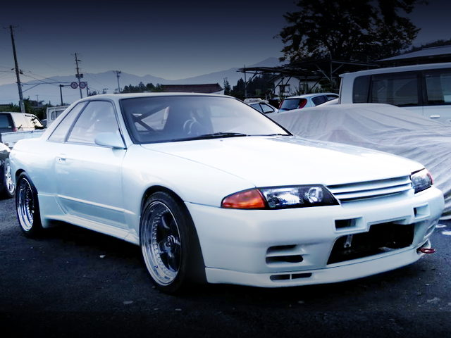 FRONT EXTERIOR GT-R BODY CONVERSION HCR32 SKYLINE
