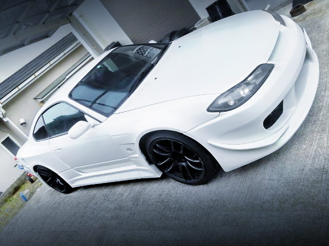 EXTERIOR OF S15 SILVIA With WIDEBODY