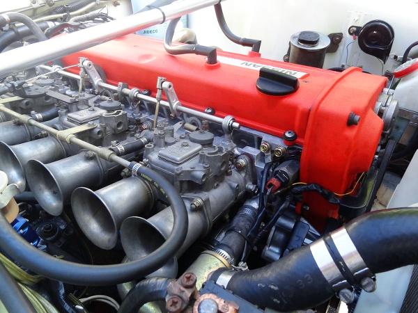 SOLEX CARBS ON RB25DE ENGINE