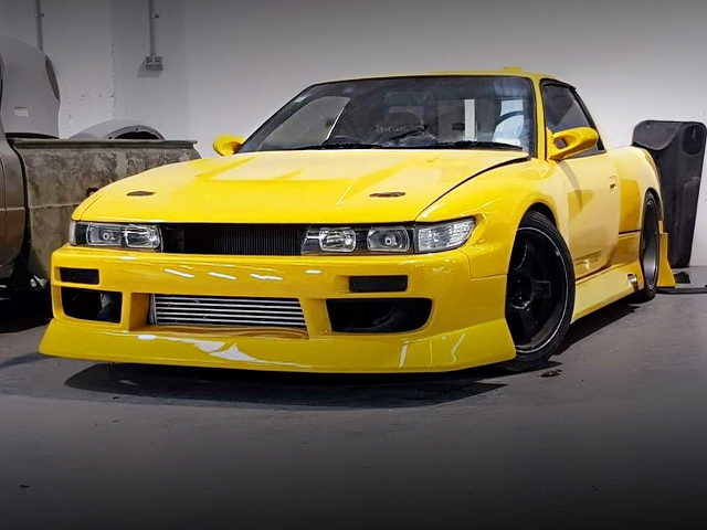 FRONT EXTERIOR S13 SILVIA WITH PICKUP TRUCK CUSTOM