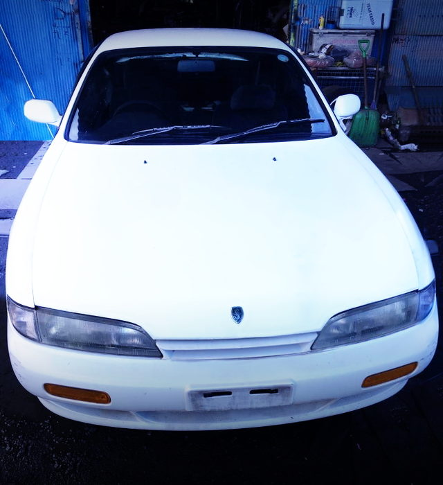 FRONT FACE OF ZENKI S14 SILVIA WITH WHITE