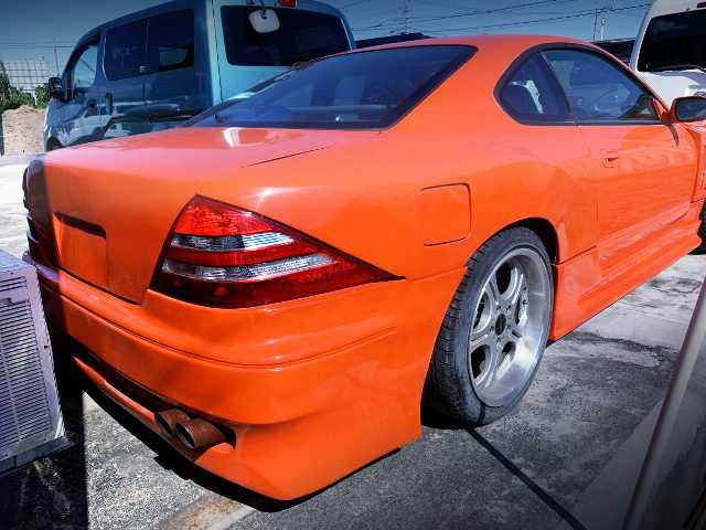 REAR EXTERIOR OF S15 SILVIA SPEC-R
