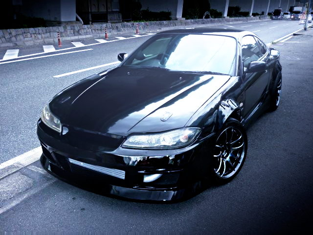 FRONT EXTERIOR OF S15 SILVIA WIDEBODFY