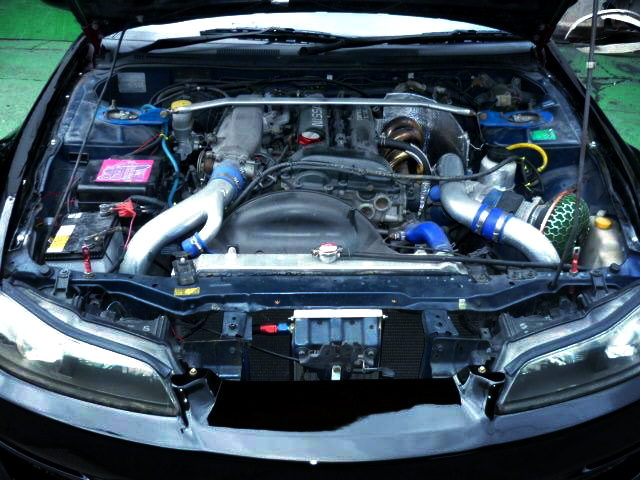 SR20DET TURBO ENGINE OF S15 SILVIA