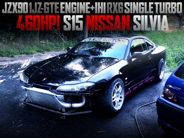 RX6 SINGLE TURBO ON A 1JZ-GTE SWAPEED S15 SILVIA