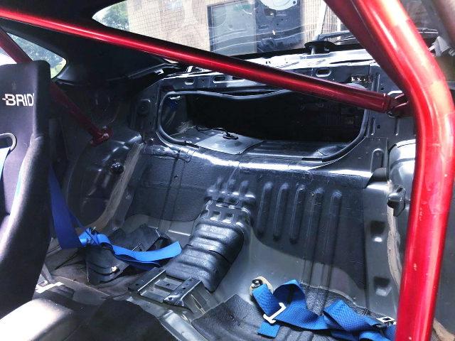 S15 SILVIA REAR SEAT REMOVE
