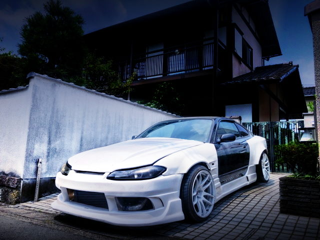 FRONT EXTERIOR S15 SILVIA With ORIGIN Labo WIDEBODY
