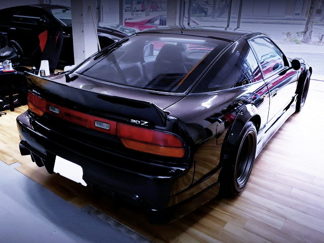 REAR EXTERIOR OF 180SX