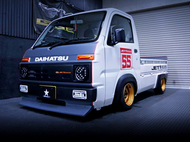 FRONT FACE JET GOGO BODY KIT With S500P HIJET
