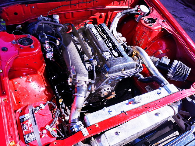 S13 SR20DET TURBO ENGINE