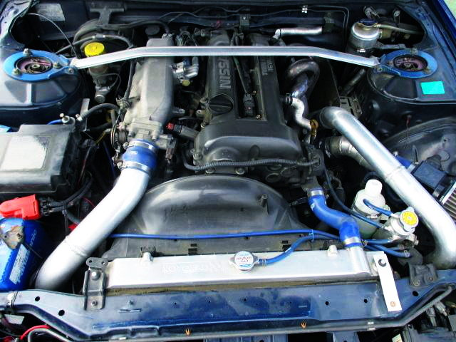 S14 BLACK TOP SR20DET TURBO ENGINE