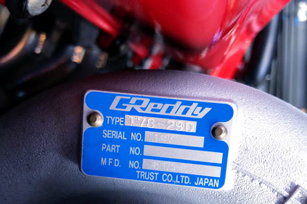GREDDY T78-29D TURBOCHARGER