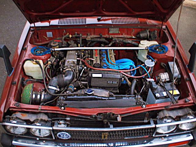 16-VALVE 4A-GE 1600cc ENGINE