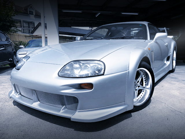FRONT EXTERIOR TRD 3000GT DOUBLE WIDEBODY OF JZA80 SUPRA