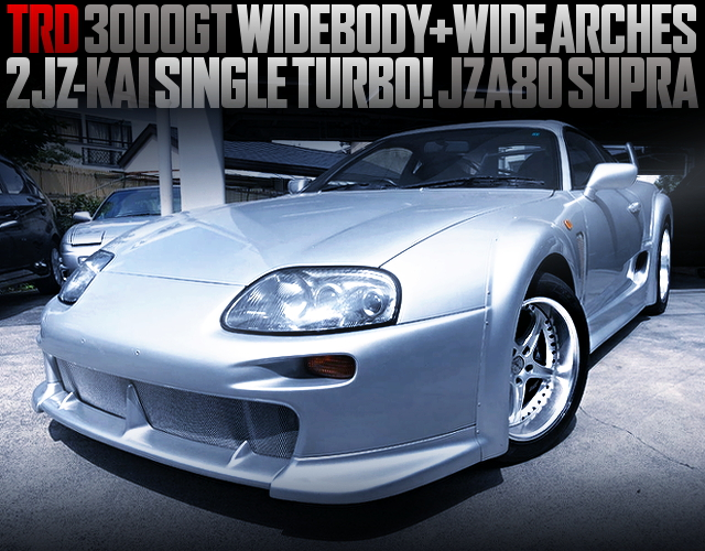 TRD3000GT WIDE AND WIDE ACHES OF JZA80 SUPRA