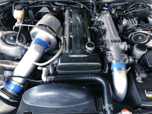 SINGLE TURBOCHARGED 2JZ-GTE