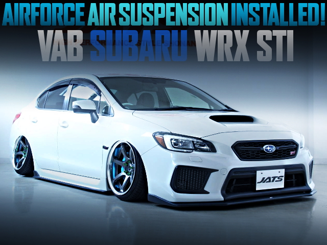 AIRFORCE AIR SUSPENSION INSTALLED OF VAB SUBARU WRX STI