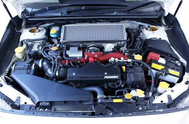 EJ20 BOSER TURBO ENGINE OF VAB SUBARU WRX STI