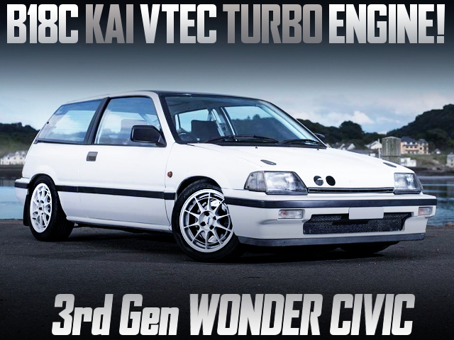 B18C KAI TURBO ENGINE INTO WONDER CIVIC