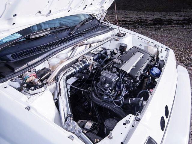 TURBOCHARGED B18C VTEC