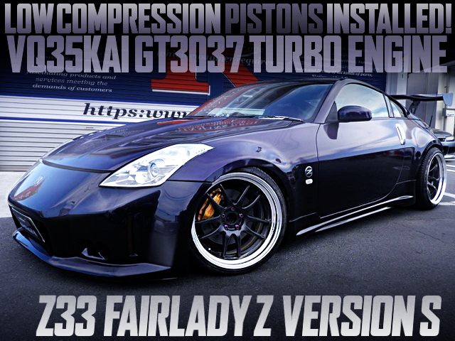 TURBO PISTONS INSTALLED VQ35 GT3037 TURBO ENGINE INTO Z33 Fairlady Z Ver S