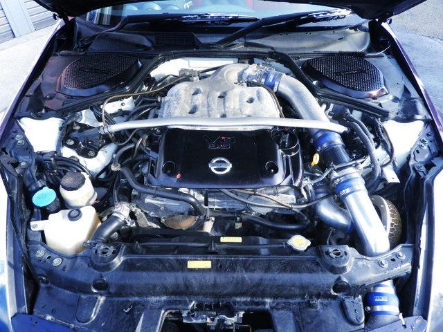 GT3037 TURBOCHARGED VQ35DE V6 ENGINE
