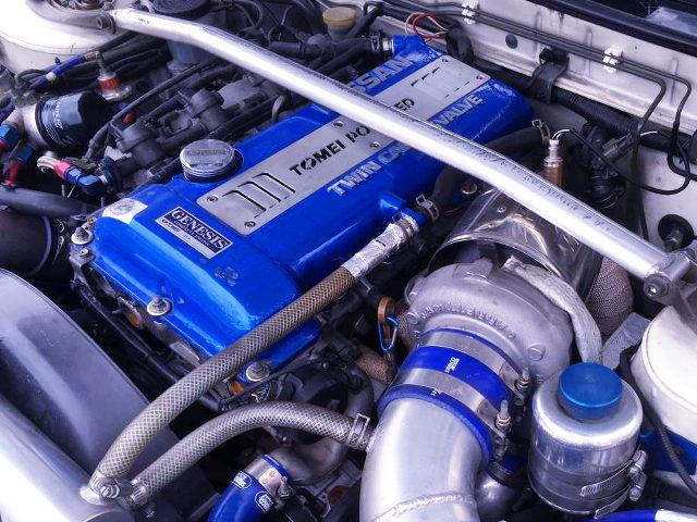 TOMEI GENESIS SR20 ENGINE OF BLUE HEAD