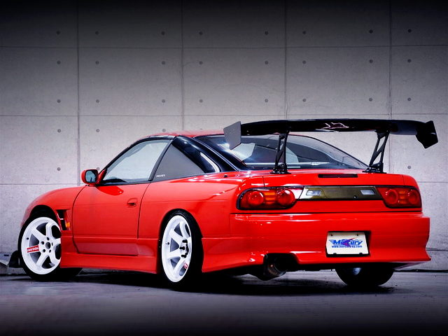 REAR EXTERIOR OF 180SX TYPE3 With GT WING