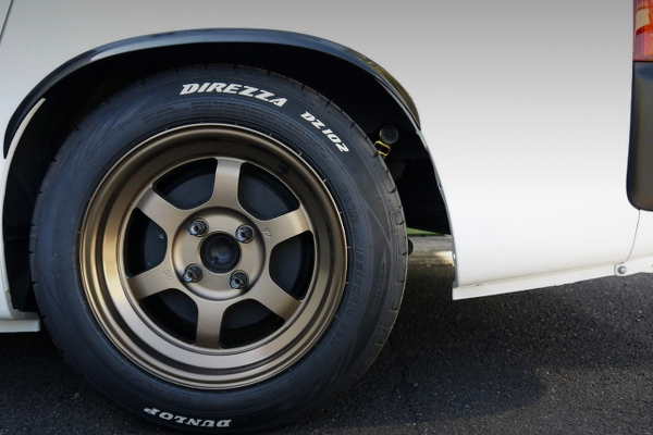 REAR TE37V WHEEL
