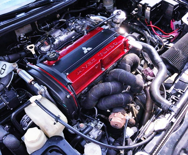 4G63 TURBO SWAPPED 3rd Gen ECLIPSE ENGINE ROOM