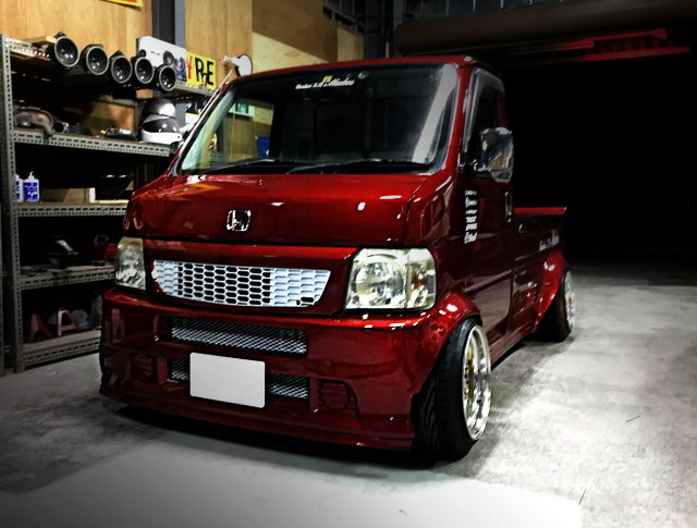 FRONT FACE 3rd Gen ACTY TRUCK WINE RED