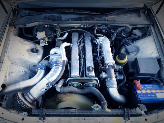 NON VVTi 1JZ-GTE ENGINE WITH HKS GT3040 SINGLE TURBO