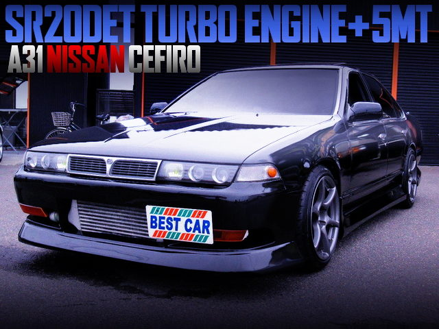 SR20DET SWAPPED A31 CEFIRO WITH BLACK COLOR