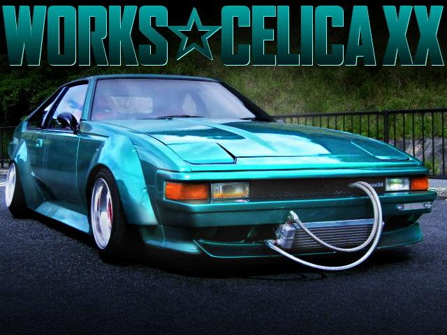 WORKS WIDEBODY OF 2nd Gen CELICA XX