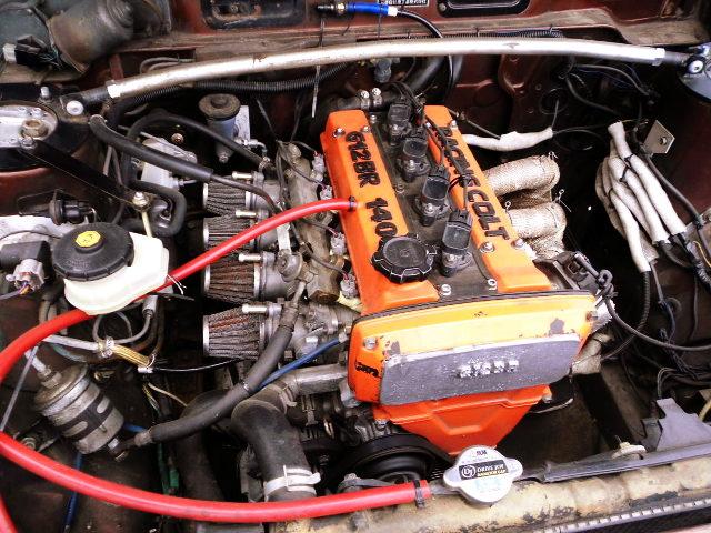 ITBs ON 16V 4AG ENGINE