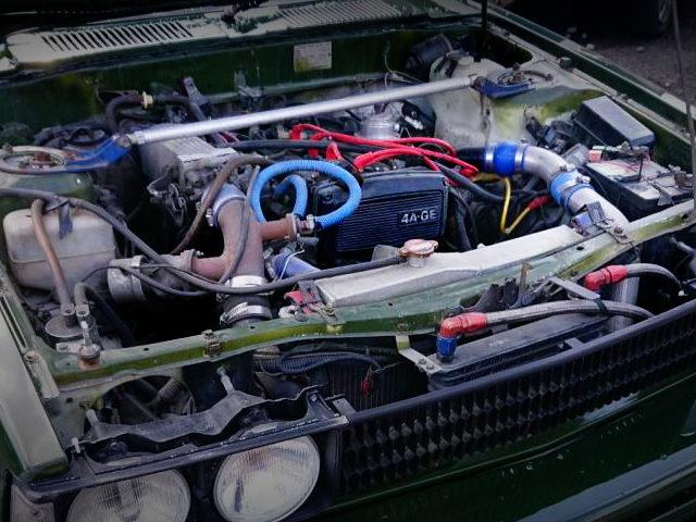 16V 4AG TURBO ENGINE